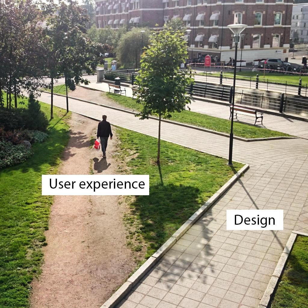 Faire son design sans penser à l'UX: les résultats