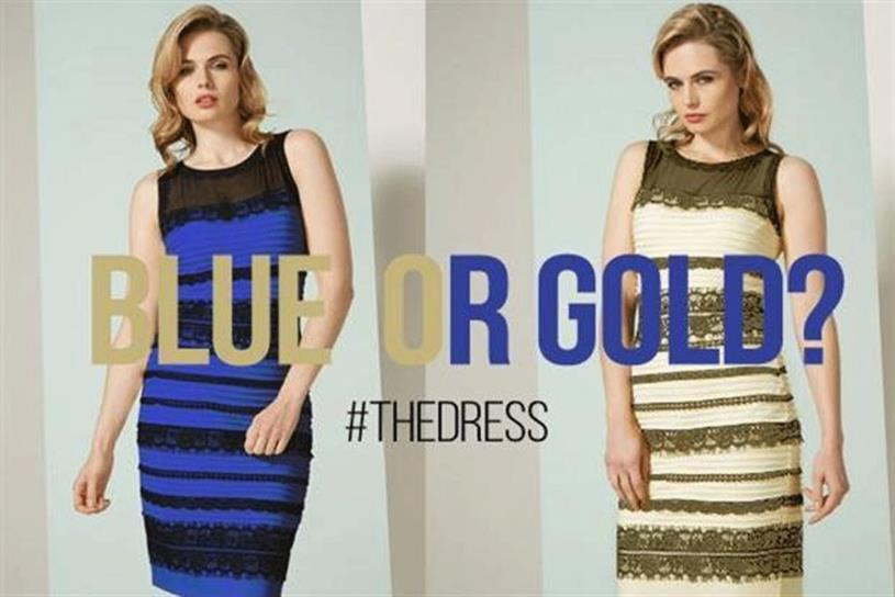 La robe, #theDress, par campaignlive.co.uk