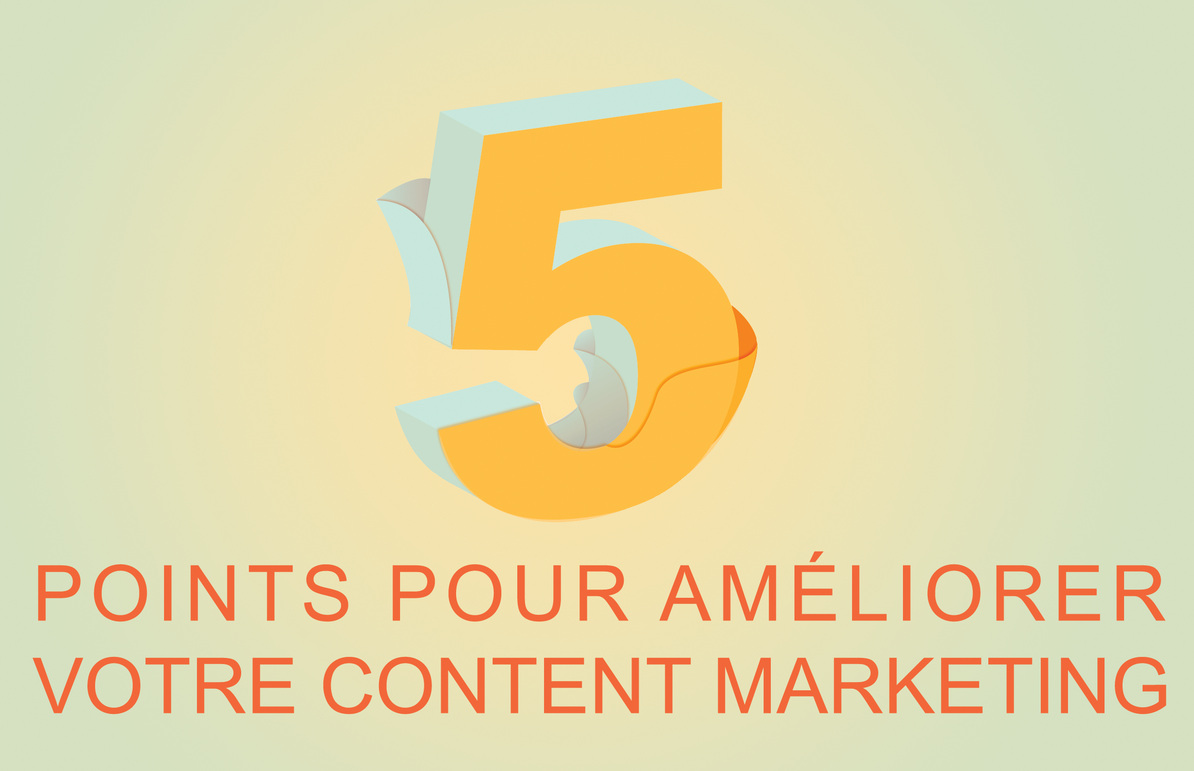 5 points content marketing