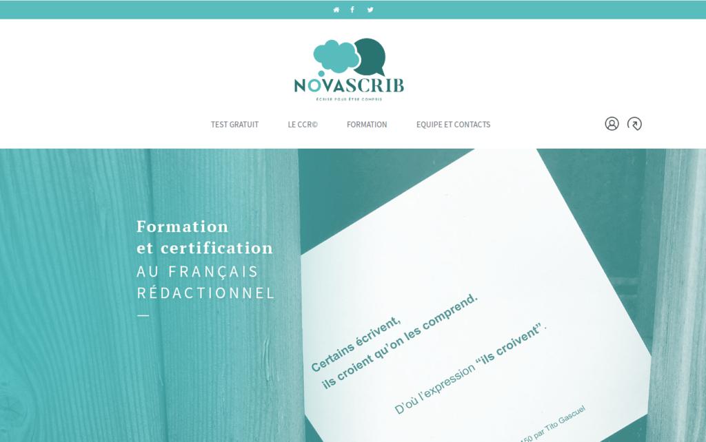 Novascrib.fr